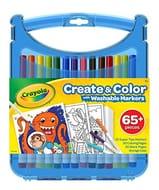 CRAYOLA 04-0377-E-000 Super Tips Create and Colour Case Stationery
