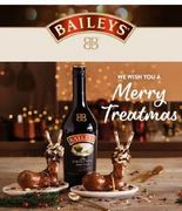 1 Litre of Baileys Original Irish Cream £12 + FREE Baileys Chocolate Reindeer
