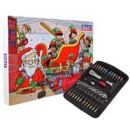 Sealey Socket & Bit Set Advent Calendar - ONLY £24.99 @EuroCarParts