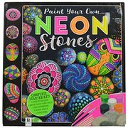 Paint Your Own Neon Stones - Only £5.25 with Code!