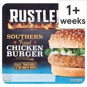 Rustlers Southern Fried Chicken Burger / Rustlers Flame Grilled Beef Burger