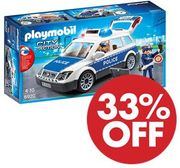 £10 off at AMAZON - PLAYMOBIL Police Squad Car with Lights & Sound (6920)
