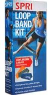 SPRI Three Piece Flat Band Loop Kit