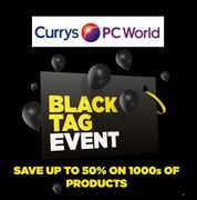 CURRYS BLACK FRIDAY / CYBER MONDAY BLACK TAG EVENT