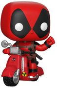 Marvel: Deadpool: Deadpool & Scooter Collectible Figure,