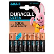 Duracell AAA Batteries 8s - 2 for £10