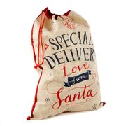 Tartan Christmas Sack - Special Delivery