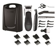 Remington Stylist Hair Clippers, Cordless Use with 8 Comb Lengths