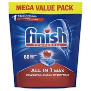 80 Finish Dishwasher Tablets, ALL In 1 MAX Original (12p Each!) AMAZON PANTRY