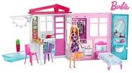 Barbie Portable Dollhouse & Doll