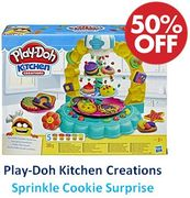 1/2 PRICE - Play-Doh Kitchen Creations - Sprinkle Cookie Surprise