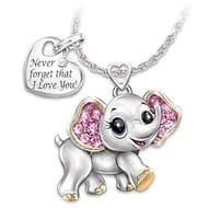 Adorable Elephant Necklace