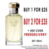 2 for £35 VERSACE the Dreamer Eau De Toilette 100ml Spray