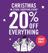 Cass Art 20% off Everything In-Store Shopping Event (Today Only)