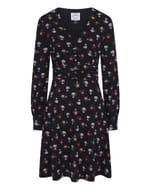 Veronica Floral Print Jersey Dress