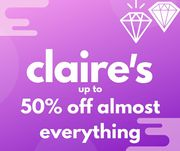 Best Deal !Claire's Exclusive - up to 50% Off Almost Everything with Code!