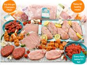 Buy 1 Extra Lean Meat Hamper Get 2 Extra FREE - 50 Meals for £43