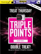 Members Only at Superdrug- Triple Points Today Only!