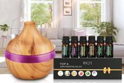 Electric Aroma Humidifier w/Essential Oil