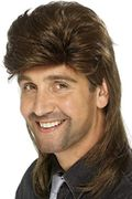 Best Ever Price! Smiffys Mullet Wig - Brown