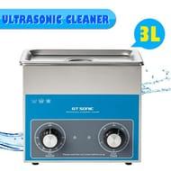 3L Ultrasonic Cleaner 40KHz with Digital Heating Timer Adjustable