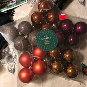 Christmas Baubles Reduced