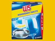 LiDL W5 40 Dishwasher Tablets