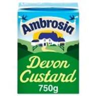 Ambrosia Devon Custard Carton 750g HALF PRICE