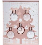 BAYLIS & HARDING Pink & White Bauble Body Set 500ml