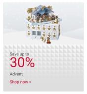 Save Upto 30% Lakeland Advents