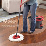 Acecoree Home Household White Easy Wring Spin Refill Mops