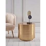 Round Brass Side Table - save £130! (Sample)