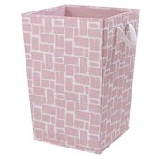 Cheap Felt Laundry Baskets - Blush Pink / Grey