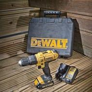 DeWalt XR Cordless 18V 1.3Ah Li-Ion Combi Drill with Kit Box