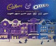 Best Ever Price! Cadbury Oreo Biscuit Assortment Christmas Carton, 502 G
