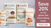 20% off Selected Gluten Free Home Baking Products