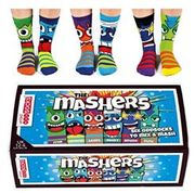 The Mashers - Six Oddsocks for Boys to Mix & Mash