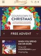 Free Advent Calendar Thorntons