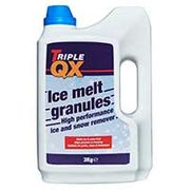 TRIPLE QX Shake on Ice Melt 3kg - Save £0.88!