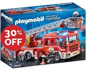 Playmobil Fire Ladder Unit with Extendable Ladder (9463)