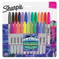 24 Sharpie Permanent Markers - Cosmic Colour