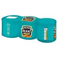 Heinz Baked Beans 3 X 200g