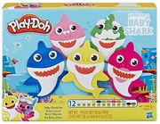 PLAY-DOH Pinkfong Baby Shark Set (With 12 Cans)