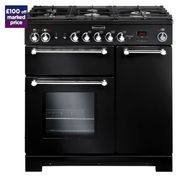 £100 off RANGEMASTER Kitchener Dual Fuel Range Cooker Orders at Currys PC World