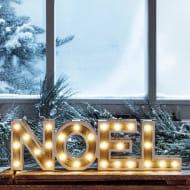 Noel Battery Light Letter Sign