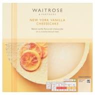 Waitrose New York Cheesecake 540g - save a 1/3!