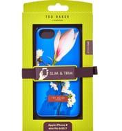 TED BAKER Cobalt Floral Slim Phone Case