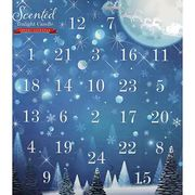 Scented Tealight Candle Advent Calendar - Snowy Scene USE CODE