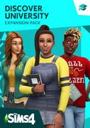 The Sims 4 - Discover University Expansion Pack PC £23.99 at CDKeys.com