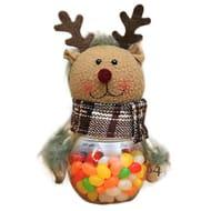Cute Christmas Candy Jar Santa Claus